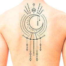 Tribal Shaman Mandala Temporary Tattoo #669 - Temporary Tattoos