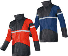 Sioen Cloverfield Mens Rain Jacket 4 in 1 Waterproof Hi Vis Parka Bodywarmer