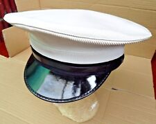 GENUINE BRITISH ROYAL NAVY ISSUE OFFICERS & SENIOR RATING CLASS1 PEAKED CAP