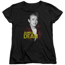 James Dean RED JACKET Licensed Women's T-Shirt All Sizes