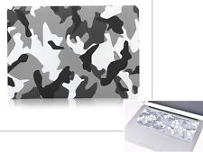 "Camouflage Rubberized Case + Keyboard Cover for Macbook Pro Air 11""12""13""15"" #"