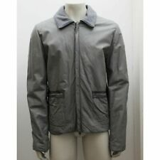 NEW Mens Lanvin Grey Calfskin Leather Jacket Size 56 BNWT RRP £2525