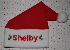 Personalised Baby/Toddler Fleece Santa Hat! ADD ANY NAME, Great Christmas Gift!