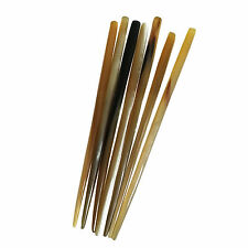Antique Yak Horn Hairpin Natural Hair Accessories Stick Bun Updo Chopsticks Pin