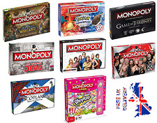 Monopoly's Special Edition's Family  Board Games - FREE P&P