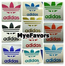 ADIDAS Vinyl Decal Stickers Labels Letters Hats Balloons Birthday Party Supplies