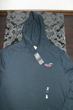 Hollister Men's Sweater Hoodie With Hoodie Navy Blue or green size XL new