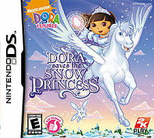 NINTENDO DS DORA THE EXPLORER DORA SAVES THE SNOW PRINCESS VIDEO GAME