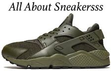 "Nike Air Huarache ""Olive Green"" Limited Stock 6 7 8 9 10 11 12 13"