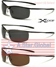X-Loop Polarized Metal Sport Designer Sunglasses Men