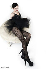 Womens One / Plus Size Wild Leopard Pantyhose Thigh High Fishnet Tights Stocking