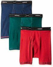 Hanes Red Label Men's 3-Pack X-Temp Comfort Cool Dyed Assorted Boxer Brief