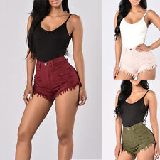Hot Sale Sexy Womens High Waist Shorts Jeans Denim Short Pants Summer Fashion