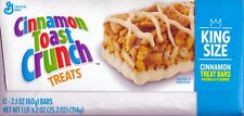 LUCKY CHARMS -CINNAMON TOAST CRUNCH -GOLDEN GRAHAMS –KIDS FAVORITE TREAT BARS