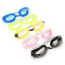 Adjustable Adult Diving Swimming Glasses Goggles Set W/ Earplugs Nose Clip OB