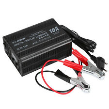 12V 3A-10A Smart Car Motorcycle Battery Charger Lead Acid Battery Charger 220V