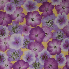 Quilt Fabric Purple Floral by Donna Dewberry for Springs Industries: FQ or CTO