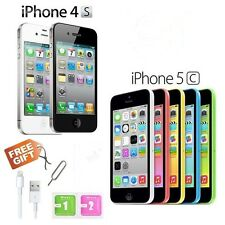 Apple iPhone 4s 5c 8GB 16GB 32GB Factory Unlocked Sim Free Mobile Smartphone