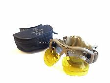 BRITISH ARMY - REVISION BULLET ANT TAN TACTICAL GOGGLES -  BRAND NEW - 2696