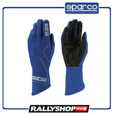 SALE Sparco Groove gloves Blue Karting Racing Kart Race guantes moto NEW 2017