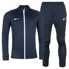 MENS OFFICIAL NIKE DRI-FIT NAVY WARM UP TRACKSUIT - TRAINING - SIZES S-2XL