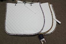 NEW Shedrow Couture Quilted Cotton All Purpose Saddle Pad - 3 Colors - Horse