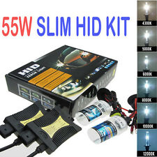 55W HID Xenon Headlight Conversion Light Bulb Bulbs Kit H1/H3/H4/H7/H11/9006//9