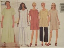 98 BUTTERICK 5469 MS/MP Loose Flared Dress or Tunic & Pants PATTERN 6-8-10 UC