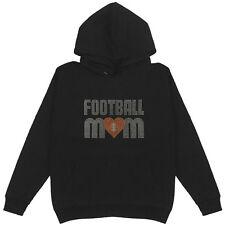 Football Mom Women's Pullover Hoodie Plus Size Unisex Sports Handmade Cotton