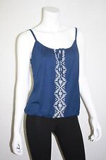 NEW OLD NAVY WOMENS EMBROIDERED BUBBLE KNIT CAMI TANK TOP SIZE  XS, S, M, L, XL
