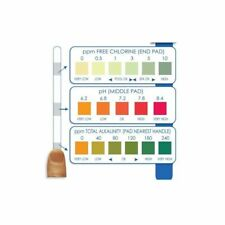 Chlorine Testing Strips / Pool / HotTub Tester - 3 In 1 With / pH / Alkalinity