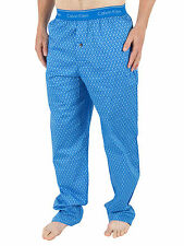 Calvin Klein Men's Logo Pyjama Bottoms, Blue