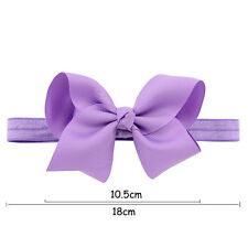 Hairband Bow Soft knot Girls Hair Accessories 1Pcs Elastic Band Headband Flower
