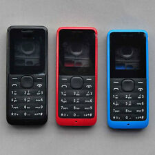 Full Fascia Housing Cover for Nokia 105 +Keypad Faceplate Case NEW