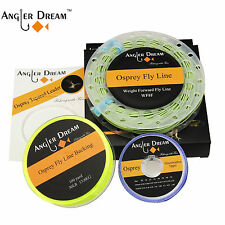 Fly Fishing Line  5/6/7/8 WT Fly Line Combo Backing & Tapered Leader & Tippet