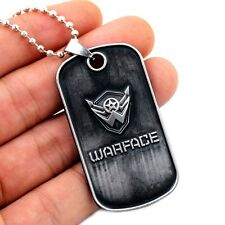 The Warface Necklace PS3 Game Cosplay Pendant Men Jewelry 1pc