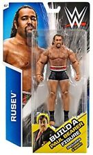 WWE, Basic Series, Rusev Exclusive Action Figure [Build Paul Bearer]. Shipping i