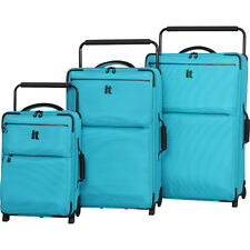 it luggage Worlds Lightest Los Angeles 2 Wheel 3 Piece Luggage Set NEW