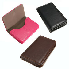 Waterproof ID Credit Card Wallet Holder Leather Business Pocket Case Box USStock