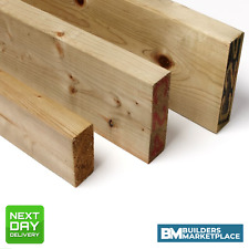 Treated Timber 2x2 Tanalised Pressure Treated Timber C16 C24 47mm x 50mm
