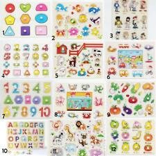 Wooden Animals/Numbers/Letters Shaped Peg Puzzles Toys Kids Birthday Xmas Gift