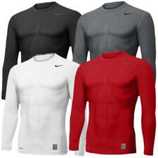 Nike Pro Core Tight Compression Crew Running LS Shirt Sports Muscle Base Layer