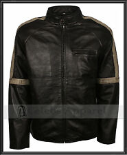 War Of The Worlds Tom Cruise Fashion Biker Genuine Leather Jacket - All Sizes