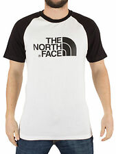 The North Face Men's Raglan Easy Graphic Logo T-Shirt, White