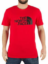 The North Face Men's Easy Graphic Logo T-Shirt, Red