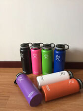 New18oz/32oz/40oz Hydro Flask Insulated Stainless Steel Water Bottle Wide Mouth
