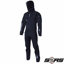 2017 Mystic Vulcanic Men's Neoprene Front-Zip Drysuit (Black)