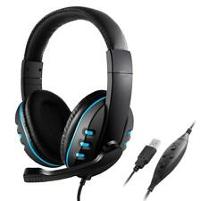 New Stereo Microphone Over-ear Noise-canceling Gaming Headphone