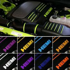 5.7L V8 Hemi Engine Dress Up Kit Decal Graphic fits Dodge Challenger R/T 2016