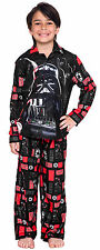 Lego Star Wars Darth Vader Boys Flannel 2-Piece Pajama Set